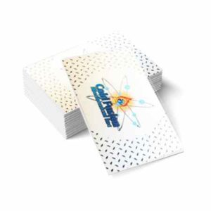 Lofted Metallic Specialty Business Cards