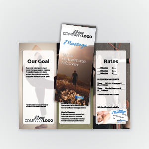 Massage Trifold Brochure