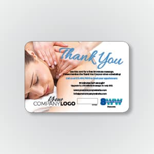 Massage Thank You Card