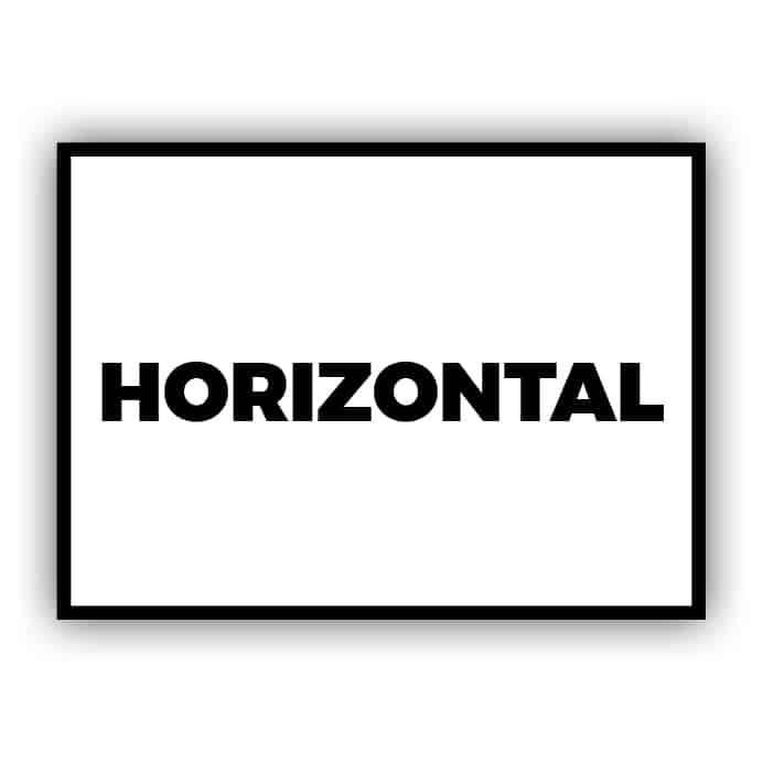 Horizontal / Landscape
