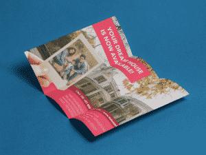 trifold brochure printing small quantity tri fold brochure printing low minimum pamphlet