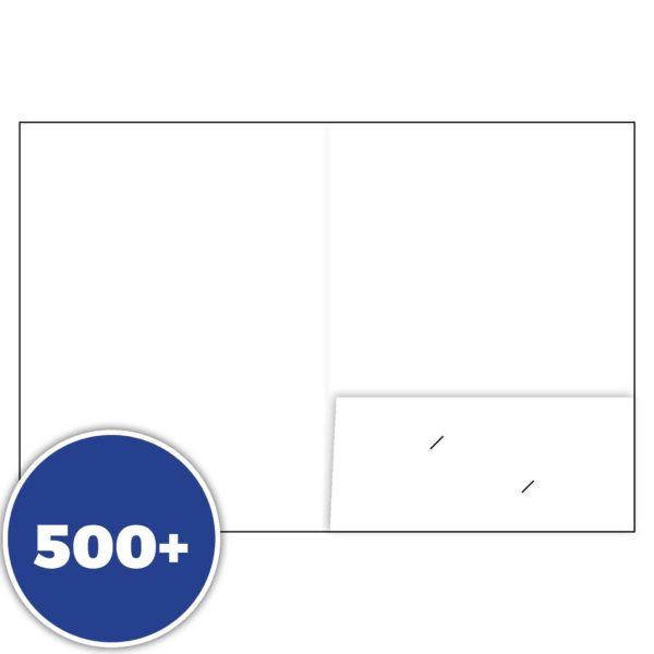 Presentation Folder Single Pocket Banner