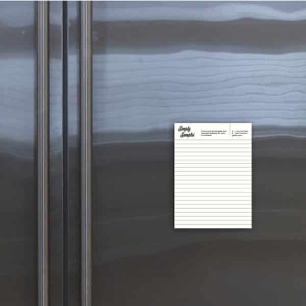 magnetic notepad, magnetic notepads, magnetic grocery list, magnetic notepad for fridge, custom magnetic notepad for fridge_1-min