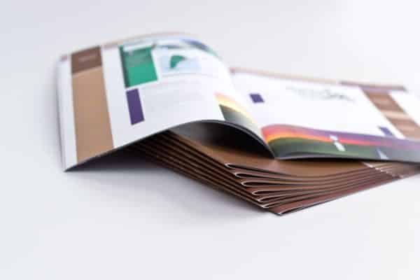 Booklet printing cheap, saddle stitched booklet printing