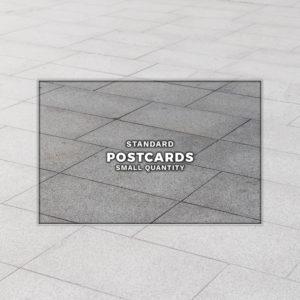 Postcard printing banners