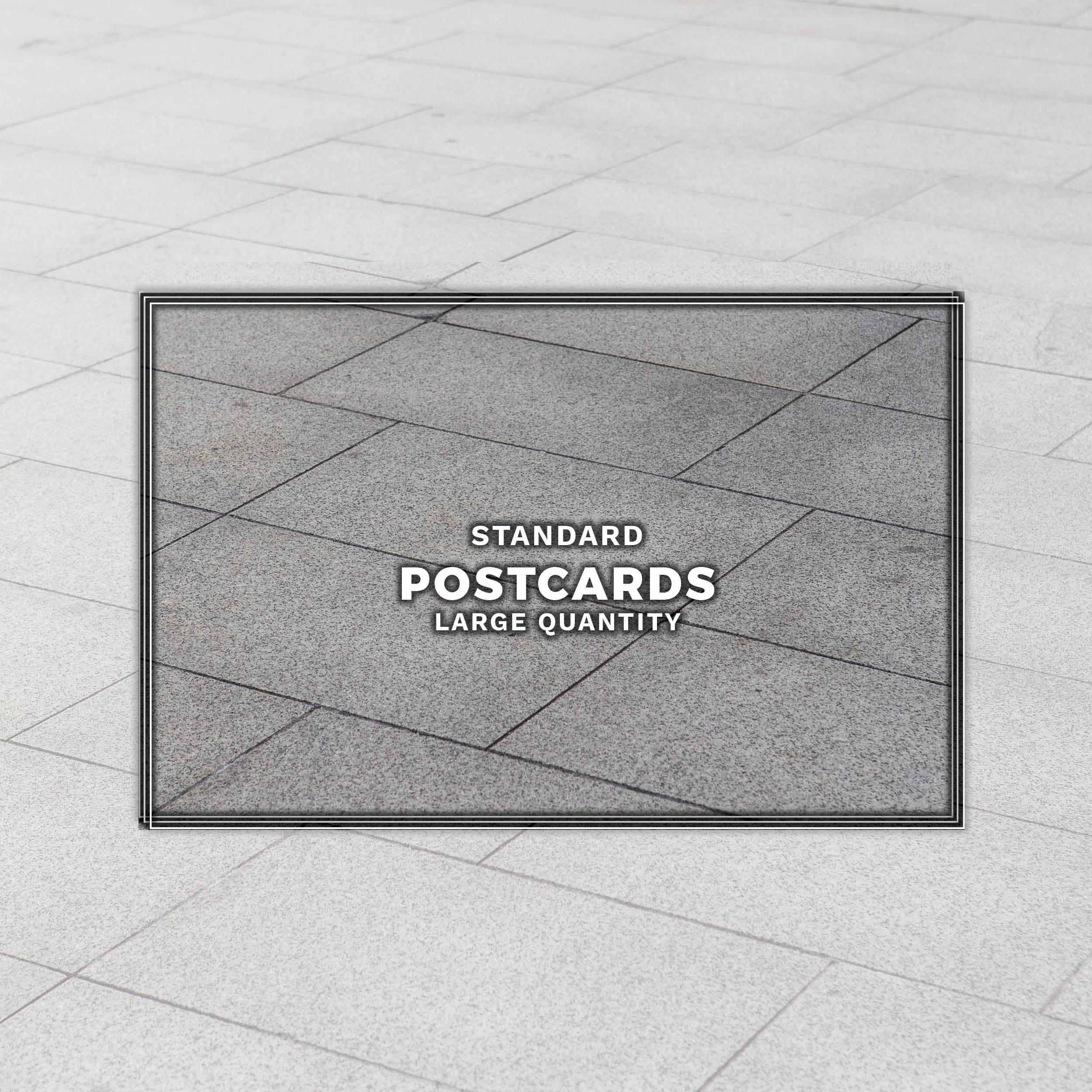 Postcard printing banner