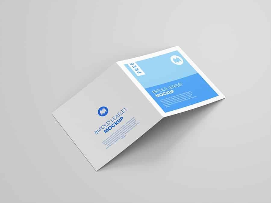 Square BiFold Brochure Square Bifold Brochure Template Square Brochure Printing