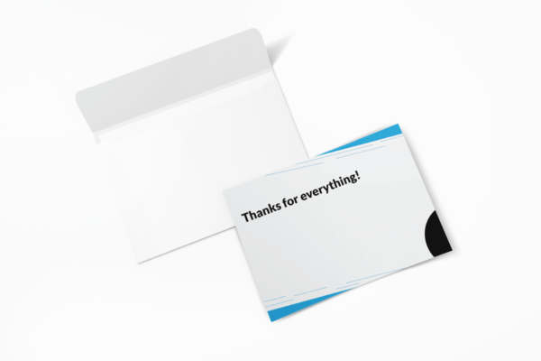flat greeting card with envelope 4