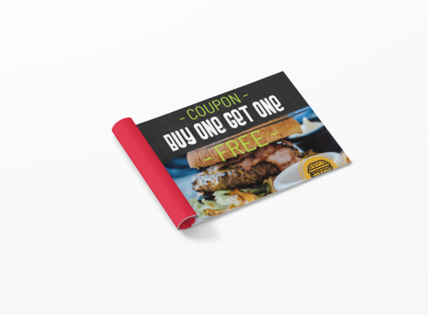 stapled coupon booklet printing